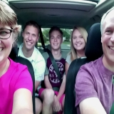 "<p>Suzanne's family summer doesn't start until her whole ""summer family"" is together. They cram into the car and take the MANDITORY family selfie before they head out to that day's adventure. This year it took until July 14th for that to happen. Their ""summer son"" Louis joined them from France on July 5th and their first-born son made it home on July 14th from his summer training with US Navy. NOW, summer begins and so do their adventures; Maple Grove Days, a visit to Northern Minnesota, a Minnesota United FC Soccer Game, and whatever else they can cram in before they have to say their ""see-you-laters"" to their summer son, Louis, and their own babies as they head off to college!</p>"