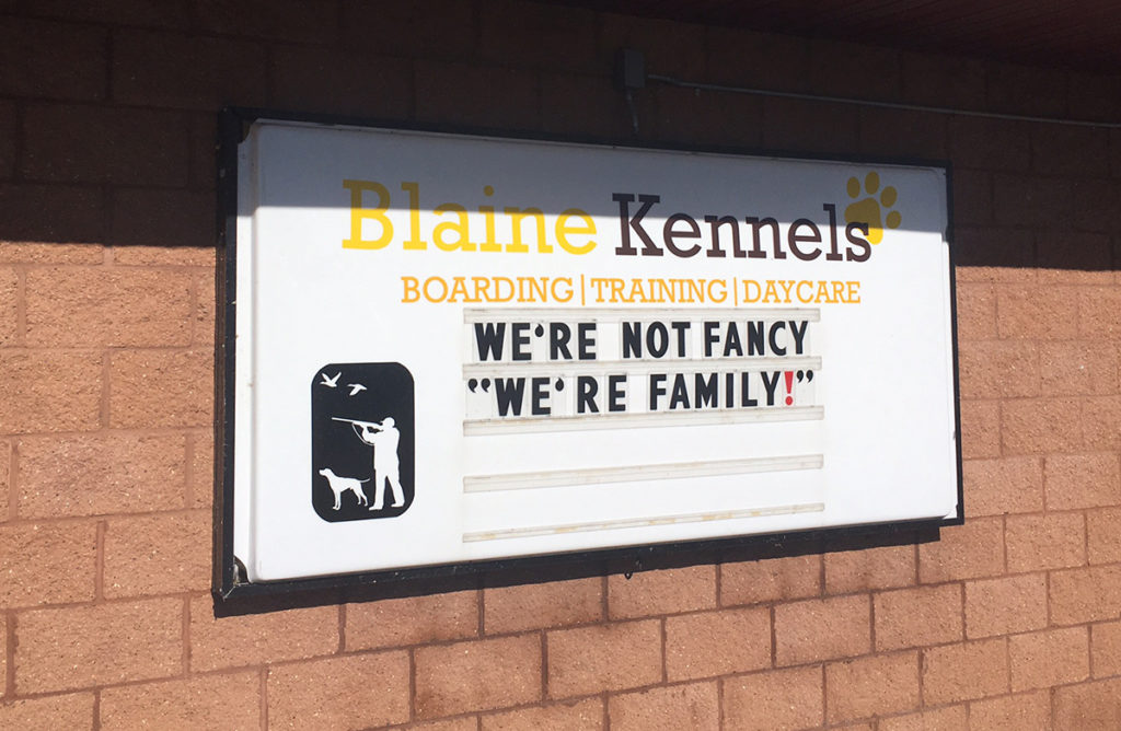 Blaine Kennels