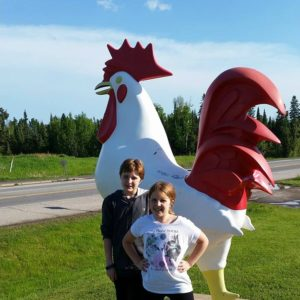 That Rooster - Two Harbors, MN - Memorable Monuments