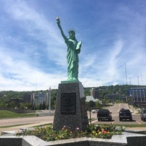 Statue of Liberty - Duluth, MN - Memorable Monuments