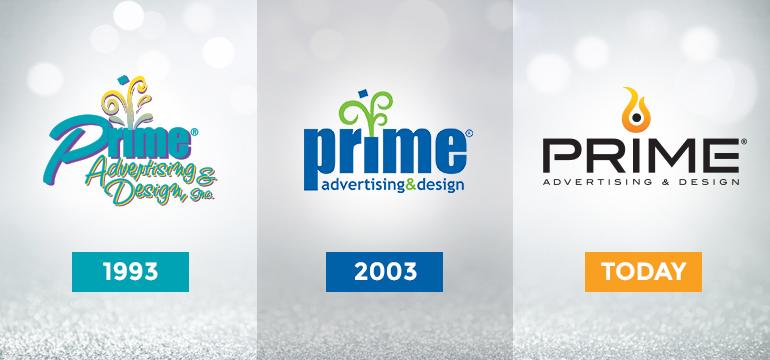 Prime Logos Through the Years