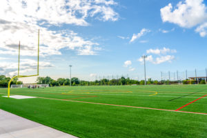 Fernbrook Fields, a new state-of-the-art facility, has four playing fields for football, soccer, and lacrosse