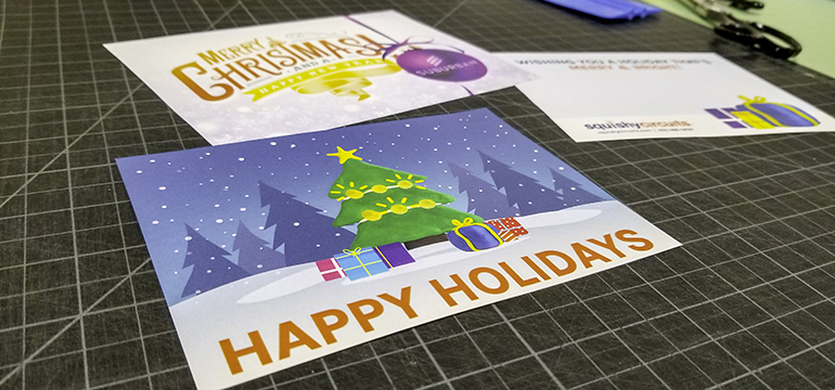 Spread cheer with holiday cards
